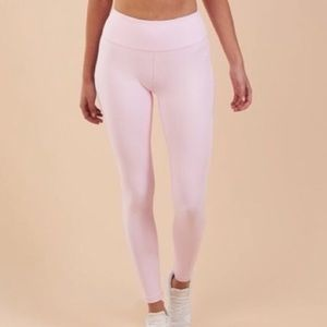 Gymshark Dreamy Chalk Pink leggings